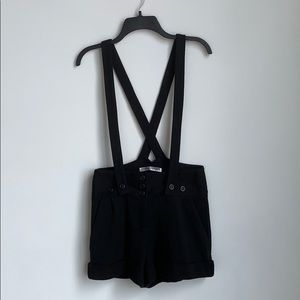Overall Ponte Shorts